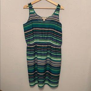 Loft Outlet Striped Dress